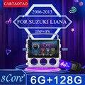 Автомобильный радиоприемник для Suzuki LIANA, android 2006 -2013, видеомультимедийная система, Android 9,0, 9 дюймов, с 2,5D сенсорным экраном, Wi-Fi, 2din, gps-плеер