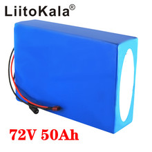 LiitoKala 72V 50Ah electric motorcycle battery pack 72V e bike battery Snow Fat Electric Bike battery Electric Motorcycle liitokala 72v 35ah battery 72v electric bicycle battery 72v 2000w electric scooter battery 72v lithium battery pack with 30a bms