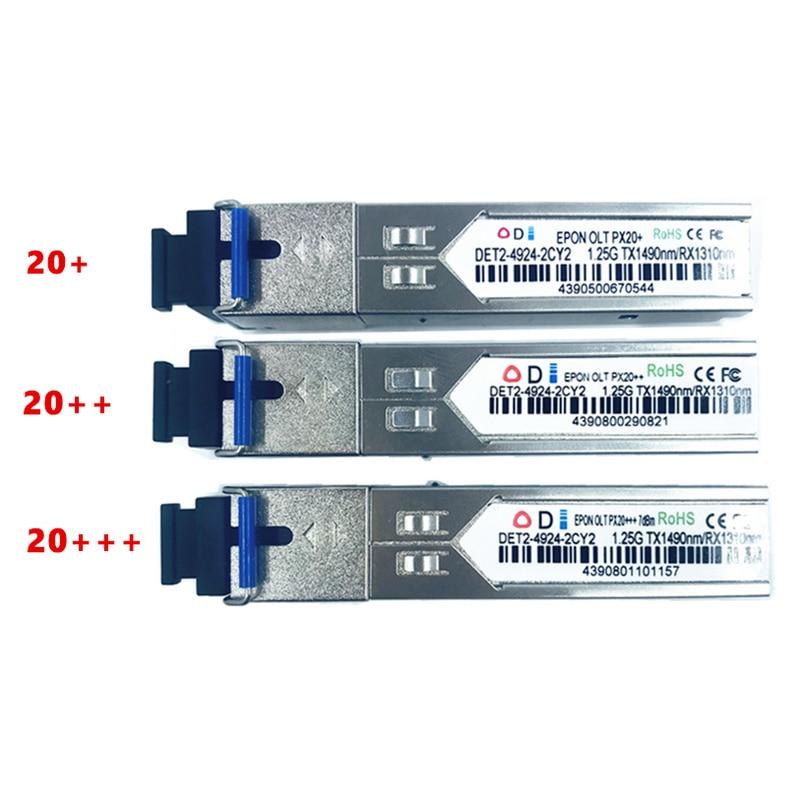 EPON OLT PX 20+ 20++ 20+++ SFP Optical Transceiver FTTH Solutionmodule For OLT1.25G 1490/1310nm 3-7dBm SC OLT