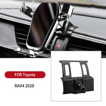 Clip Mobile-Phone-Holder Air-Vent RAV4 Toyota Mount-Stand Dashboard Auto-Accessories