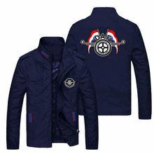 New Men's Jacket Samurai Fighting Baseball Style Slim Jacket Slim High Quality Tops 2021 Spring and Autumn