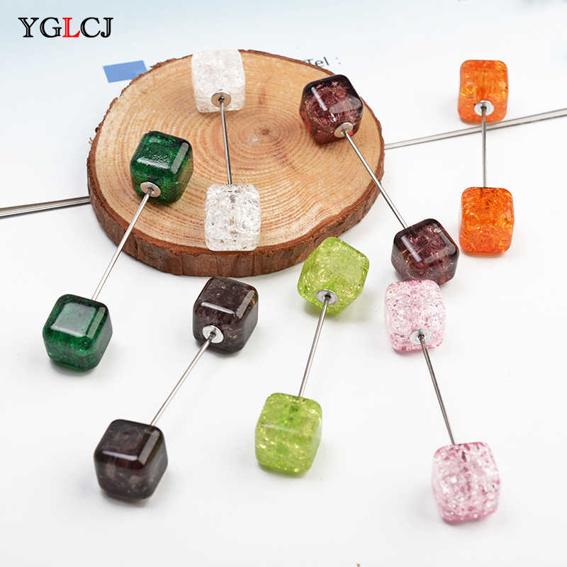 YGLCJ Fashion Women'S Crystal Brooch Classic Charm High Quality Accessories Simple 7 Colors Can Choose Brooch Wild Models