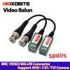 Coax CAT5 kamera CCTV pasywny BNC wideo balun do UTP Transceiver złącze 2000ft odległość skręcony kabel