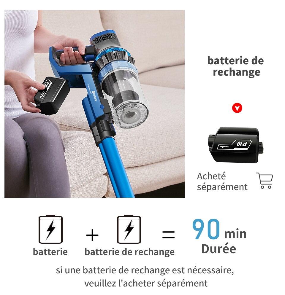 P10 aspirateur à main sans fil Portable