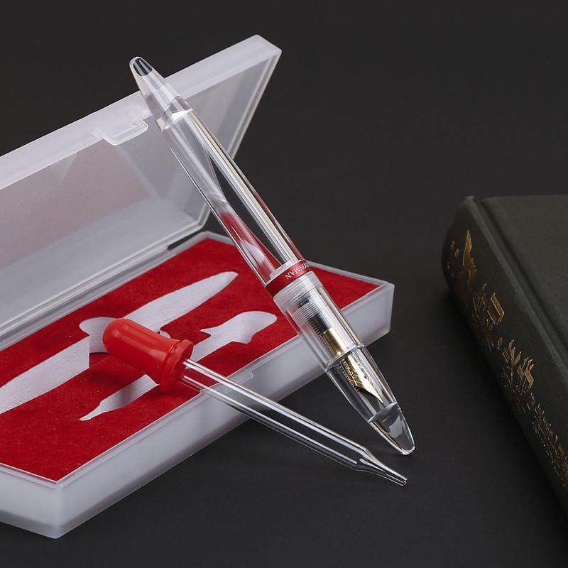 High Quality Ink Pen 0.38mm/0.5mm Moonman M2 Large Ink Capacity Eyedropper Fountain Pen Eye Dropper Filling Pen