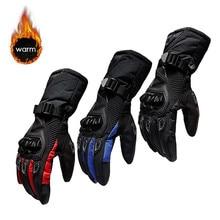 Nouveaux gants de moto dhiver imperméables et chauds quatre saisons équitation moto cavalier Anti chute gants de fond