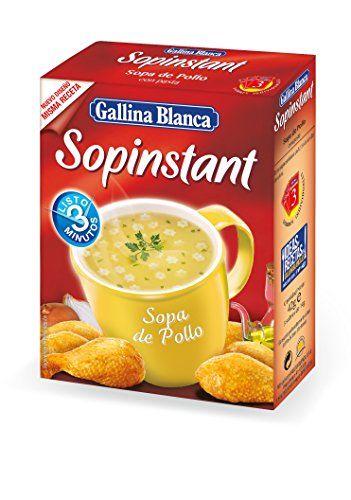 Sopinstant Sopa De Pollo Con Pasta Gallina Blanca 42gr