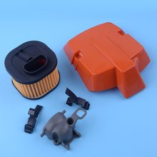 LETAOSK 503627502 503627501 Air Filter Holder Kit Chainsaw Intake Adaptor Fit for Husqvarna 372XP 362 371 365 372 2016 newchoke rod lever for huss 362 365 371 372 372xp new chainsaws chainsaw parts kit
