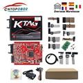 KTAG V7.020 4 светодиодный онлайн KESS V2 V2.47 V5.017 EU Red ECM Titanium KTAG V2.25 онлайн основная версия OBD2 ECU Программатор для автомобиля/грузовика