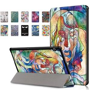 Чехол для huawei MediaPad T5 10 AGS2-W09/W19/L09/L03 из искусственной кожи подставка чехол для планшета чехол для huawei MediaPad T5 + ручка