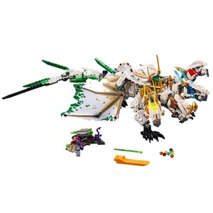 Image 2 - 1100 adet Ninja mirage ultimate dragon karmaşık uyumlu lepining ninjagoes yapı taşları tuğla oyuncaklar aksiyon figürleri oyuncaklar hediyeler