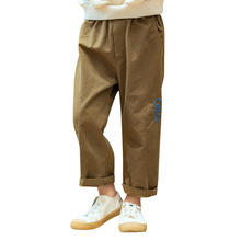 Solid Kids Boys Pants Trousers Clothes 2019 New Hot Casual Cotton Elastic Waist Pencil Pants for Boys Children Clothing цена и фото