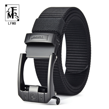 [LFMB]Tactical Belt Nylon Military Army belt Outdoor Metal Buckle Police Heavy Duty men's Training Hunting Belt