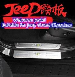 Listwa progowa nadaje się do montażu Jeep Grand Cherokee  do akcesoriów dekoracyjnych ze stali nierdzewnej 11-18 Grand Cherokee