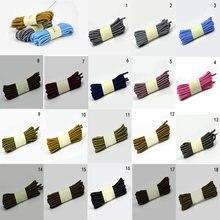 Lacets ronds pour chaussures de sport, 1 paire, 120/150cm, mode, Double couleur, rayé