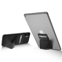Universal Tablet Stand with card Solt For iPad Phone case Holder PU Kickstand Fo