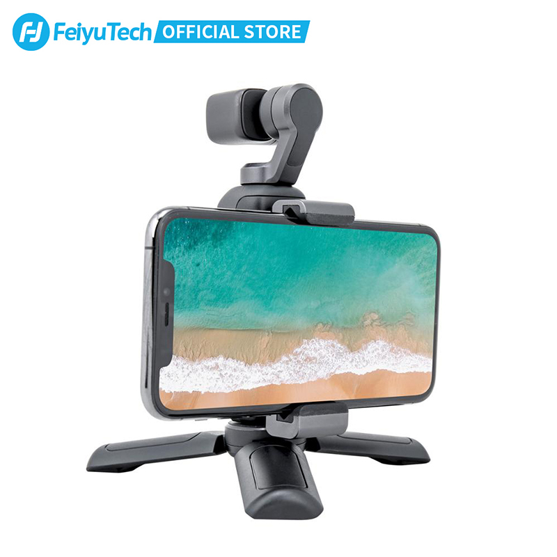 Feiyutech Feiyu Pocket Action Camera 3-Axis Stabilization 4K 60fps 270 Mins Stabilizer Integrated Camera Used With Smartphone 2