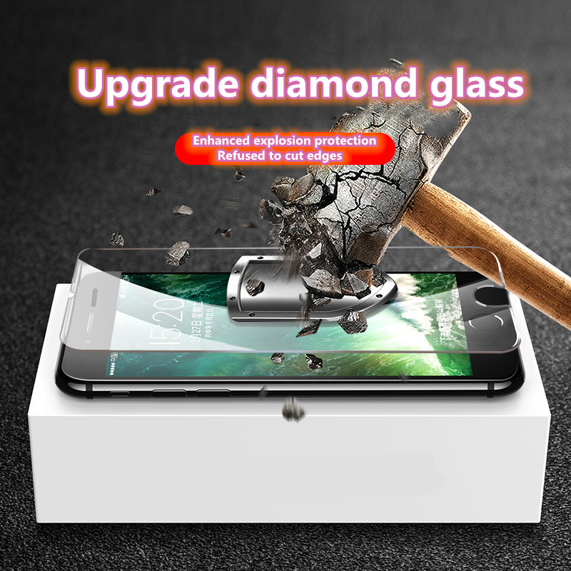 Wholesale Tempered Glass For IPhone 6 6s 7 8 Plus X X XS MAX XR Screen Protective Film Luxury Glass Protector For IPhone 11 Pro