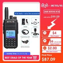 DMR double bande chape RT3S talkie-walkie numérique (GPS) VHF UHF DMR Radio Amador Ham Radio Hf émetteur-récepteur Radio 2 voies   accessoires