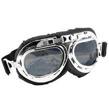 OcioDual очки мотоцикл Авиатор Тип защитный УФ винтажный Ретро-объектив Ahumada Bikers Тип Авиатор защита для