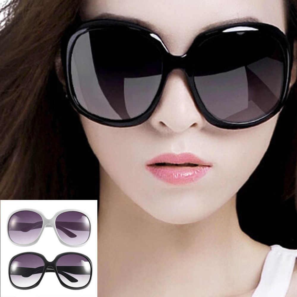 Multi-colors Sexy Women Lady's Large Classic Shopping Sunglasses Big Oval Eyewear Round Cat Eye Sun Glasses
