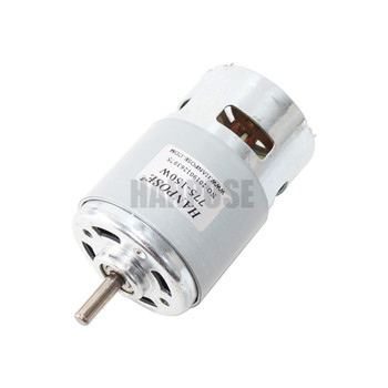 795 DC Electric spindle Motor For Drill 12 24V 80W 150W 288W Brush dc motors rs 775 lawn mower motor with two ball bearing Rated