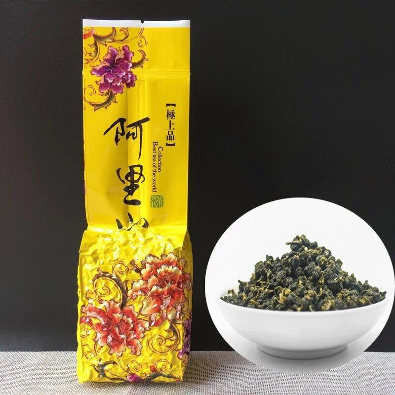 250g Taiwan Milk Oolong Tea Beauty Weight Loss Lowering Blood Pressure High Mountains JinXuan Milk Oolong Tea Fresh Green Tea
