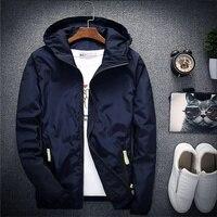 Men Autumn Bomber Jacket Women Casual Solid Windbreaker Zipper Thin Hooded Coat Slim Fit Pilot Jacket Outwear Male Plus Size 7XL 1