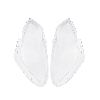 A Pair Car Front Headlight Head Light Lamp Clear Lens Covers Case Shell For Mercedes C-Class W204 For Coupe/ Sedan 2011-2014 Fac