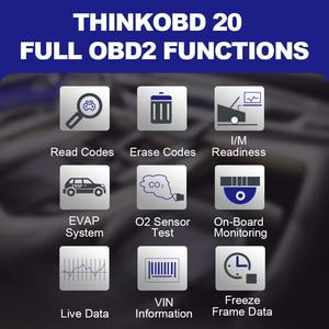Image 5 - THINKCAR THINKOBD 20 Professional OBD2 Car Auto Diagnostic Tool OBD 2 Scanner automotivo Code Reader Check Engine Light