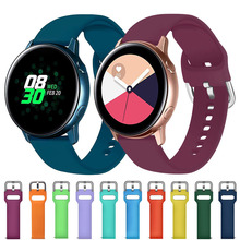 20mm Wrist Strap for Samsung Galaxy Watch Active 2 Bracelet 22mm Watchband for Galaxy Watch 46mm Gear S3 Amazfit Bip Accessories cheap ARMED CN(Origin) 20cm Watchbands Milanese New without tags 20mm 22mm smartwatch band metal buckle