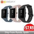Versión Global Amazfit Huami Bip Lite 2 reloj inteligente xiaomi Original GPS 45 días de duración batería Gloness ritmo cardíaco HUAMI Smartwatch