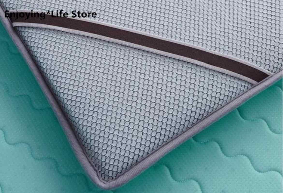 Dicke 6cm/10cm Latex Matratze Klapp Matratze Speicher Baumwolle Für Königin/König/Twin/Full größe Bett Atmen Schaum Tatami Matratze