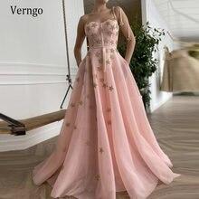 Verngo 2021 Королевский Розовый сетчатый фатиновый блестящие