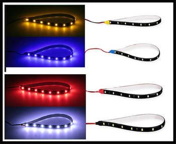 LED light bar Christmas car decoration 12V 15SMD30cm driving motorcycle for BMW EfficientDynamics E46 E39 E38 E90 E60 E93 F30 image