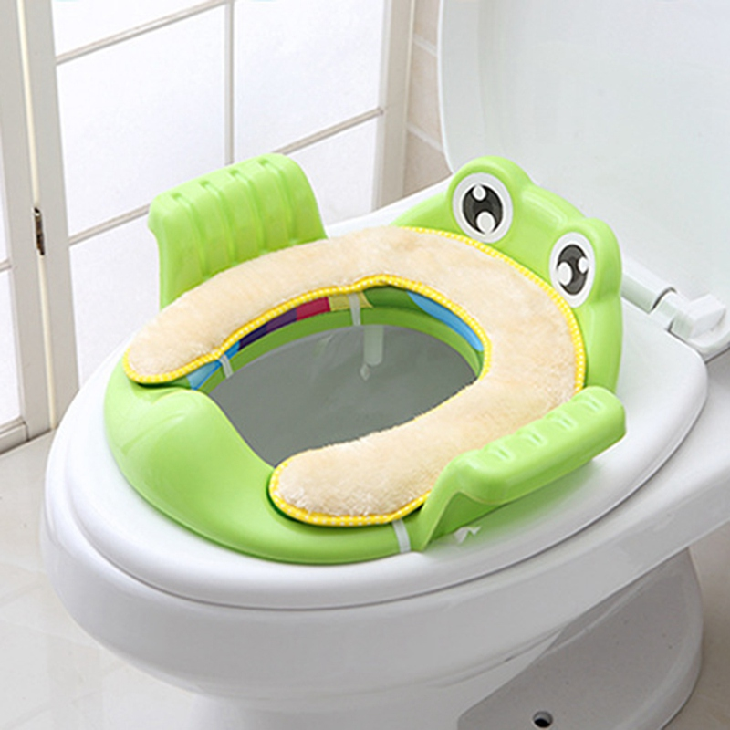 Baby Toilet Potties Seat Children Potty Safe Seat With Armrest For Kids Trainers Comfortable Toilet Large Size Infant Potty
