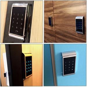 Electronic Door Lock Drawer Combination Digital Lock Touch Keypad Password Key Access Cabinet Digital Security Code For Locker