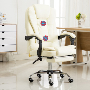 Image 2 - Computer Chair Household Office Chair Rotary Chair Boss Chair Modern Simple Backrest Comfortable Lazy Chair