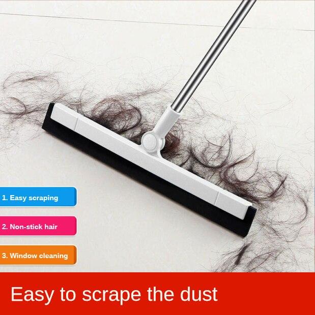 Magic Broom Hand Push Sweepers Hair Sweeping flooring Sweeper Artifact Scrape Bathroom Cleaning Household Appliance