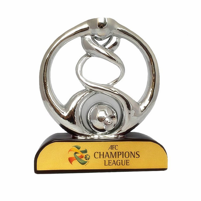 1:1 Asia League Champions 52cm Size Trophy Football Soccer Souvenirs Award Free Shipping Halloween Christmas Decoration R3957