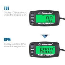 Hm032c индуктивный тахометр датчик двигателя счетчик часов напоминание