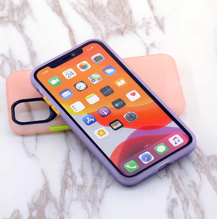 LOVECOM di Modo Nottilucenti Dolore Per il Caso di iPhone 11 Pro XR XS Max 7 8 Più Macchina Fotografica di Protezione Opaca caso di TPU Morbida copertura Posteriore del telefono