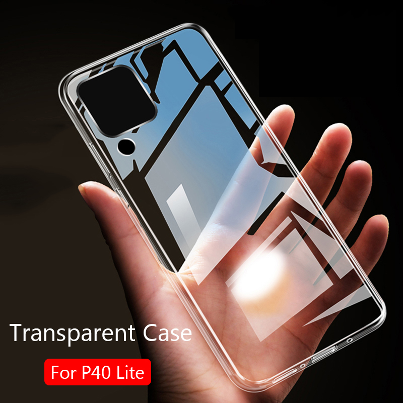 For Huawei P40 Lite Case Slim Soft Transparent High Clear TPU Phone Cases For Huawei P40 Lite E P40Lite E