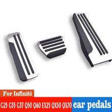 Car accelerator pedal brake pedal cover pad non-slip AT for