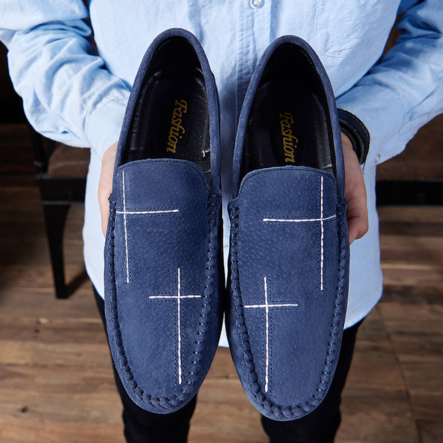 Men's Loafers Comfortable Flat Casual Shoes