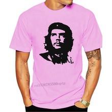 Official Mens Che Guevara Face T-Shirt Red Argentina Cuba Revolution Guerilla mj