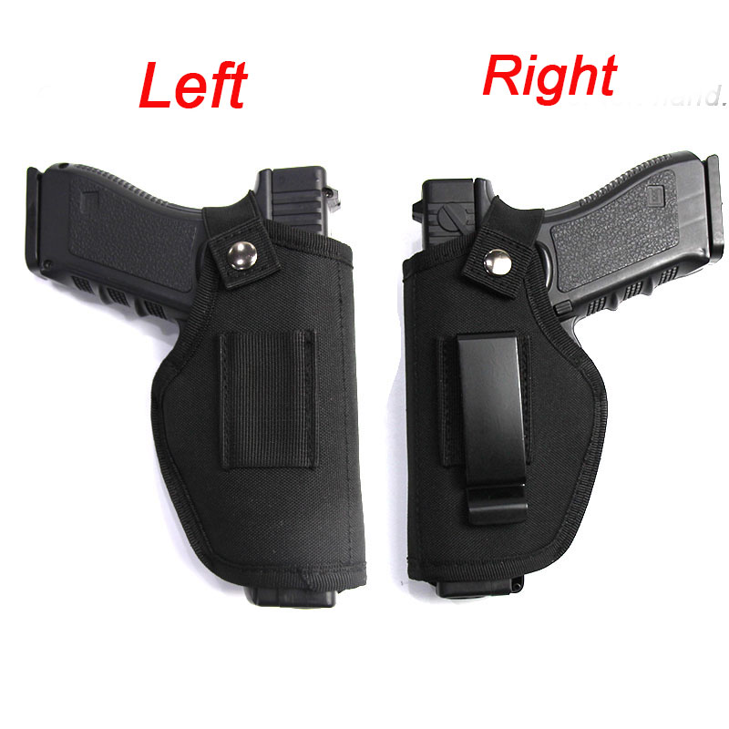 Tactical Left Right Hand Glock Gun Holster Bag Waist Hunting Airsoft Gun Case for Glock Colt 1911 Beretta M9 P226 Pistol Holster