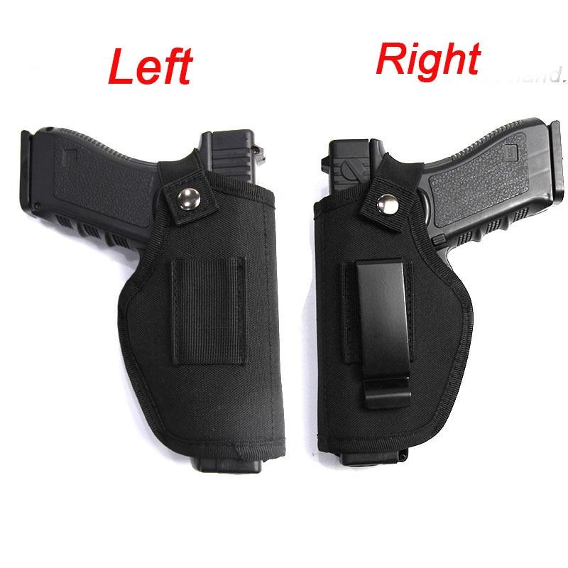 Tactical Left Right Hand Glock Gun Holster Bag Waist Hunting Airsoft Gun Case For Glock Colt 1911 Beretta M9 P226 Pistol Holster