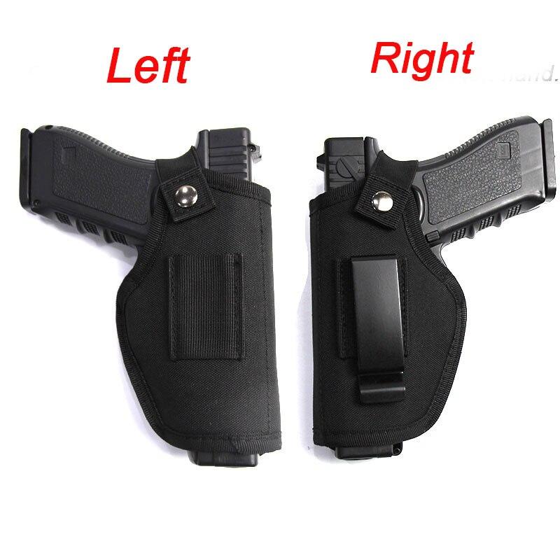 Taktik sol sağ el Glock tabanca kılıfı çantası bel avcılık Airsoft tabanca kılıfı Glock Colt 1911 Beretta M9 P226 tabanca kılıfı