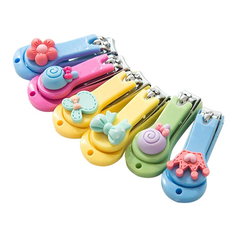 1Pcs Baby Special Nail Clipper Baby Safety Care Products Cute Infant Finger Trimmer Scissors Newborn Nail Care Nail Cutters New